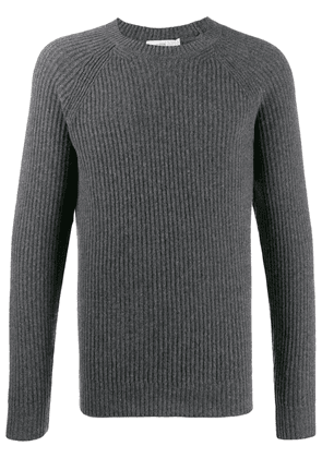 Closed ribbed knitted jumper - 174