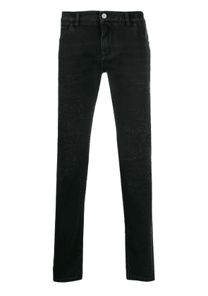 Dolce & Gabbana distressed slim-fit jeans - Black