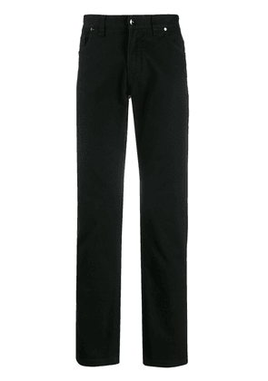 Fendi straight-fit jeans - Black