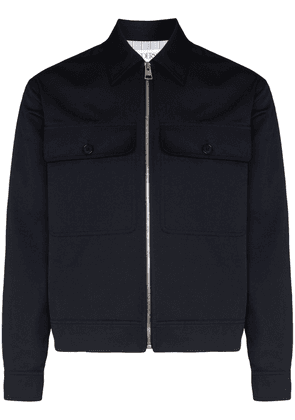 JW Anderson zip-front bomber jacket - Blue