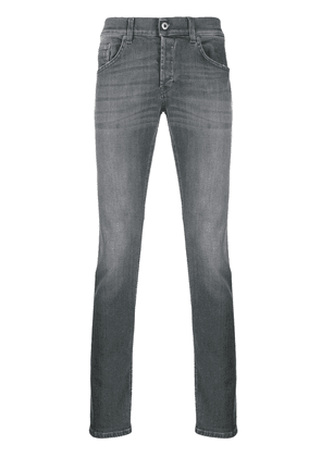 Dondup faded slim-fit jeans - Grey