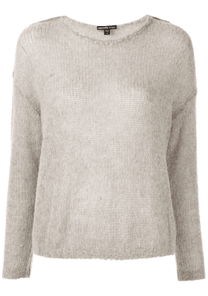 James Perse dropped shoulder jumper - Brown