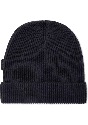 TOM FORD - Ribbed Cashmere Beanie - Blue