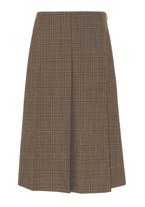 Joseph Skyl Glen Plaid Knee-Length Skirt Size: 34