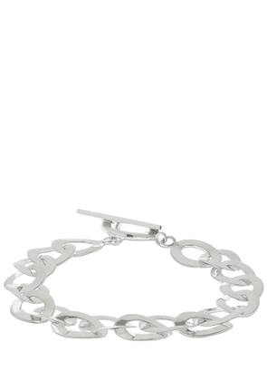 Flat Iron Chain Anklet