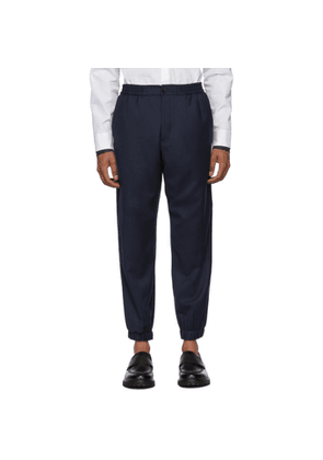 Etro Navy Wool Jogging Trousers