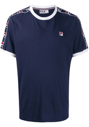 Fila logo embroidered T-shirt - Blue