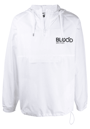 Blood Brother Dalston windbreaker - White