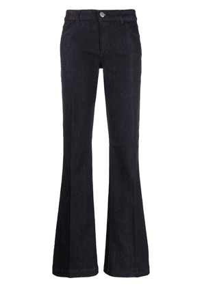 Emporio Armani flared high-waisted jeans - Blue