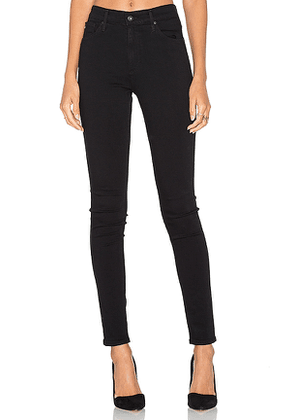 AG Adriano Goldschmied Farrah Skinny in Black. Size 23,25.