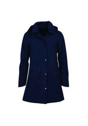 Barbour Womens Brisk Jacket Navy / Classic