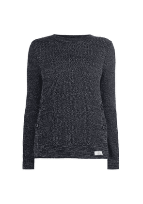 Barbour Womens Crag Knit Navy Marl