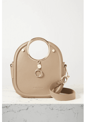 See By Chloé - Mara Small Textured-leather Tote - Taupe