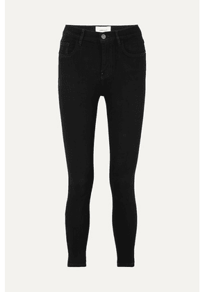 Current/Elliott - Stiletto High-rise Skinny Jeans - Black
