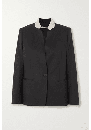Stella McCartney - Two-tone Wool Blazer - Black