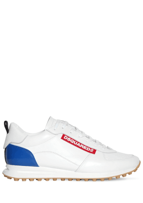 New Runner Hiking Leather Sneakers