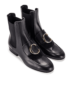Chloe C Ankle Boots in Black - Black. Size 40 (also in ).