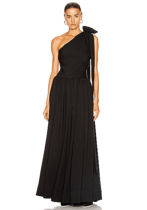 Staud Sarah Dress in Black - Black. Size 0 (also in 2,4,6,8).