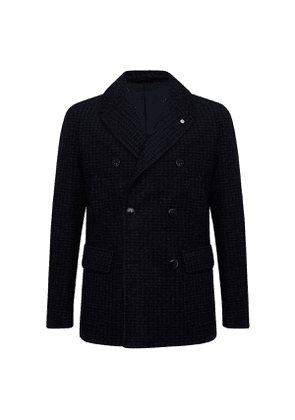 Bavy Wool-Blend Double-Breasted Caban Jacket
