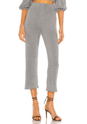 MAJORELLE Luther Pant in Gray. Size XXS,XS,S,M,XL.