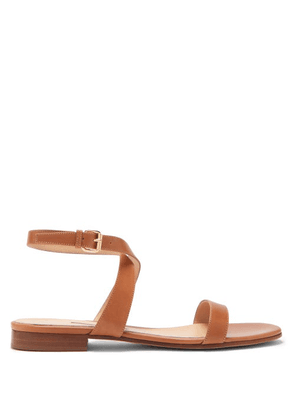 Emme Parsons - Siena Ankle-strap Leather Sandals - Womens - Tan