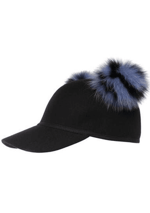Sass Women Black And Blue Hat