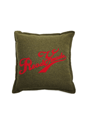 Readymade Embroidered Wool Cushion
