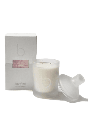 White Unisex Incense Double Wick Candle
