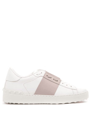 Pen White & Rose Leather Sneakers Ss 2020