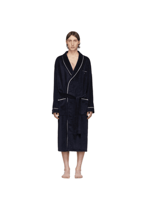 Tiger of Sweden Navy Eiden Bath Robe