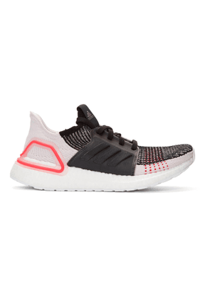 adidas Originals Black and White Performance Ultraboost 19 Sneakers