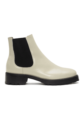 Tiger of Sweden Off-White Balans Chelsea Boots