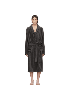 Tiger of Sweden Grey Eiden Bath Robe
