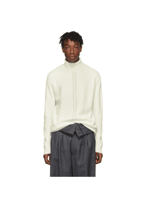 Wooyoungmi Off-White Cashmere Turtleneck