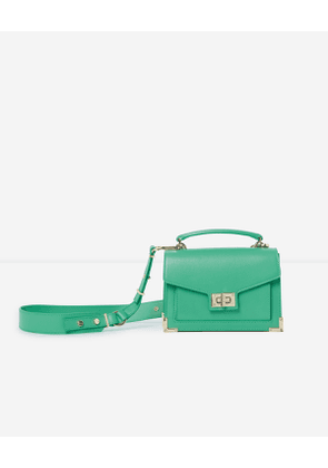 The Kooples - Mini Emily bag in smooth leather with metalware - WOMEN