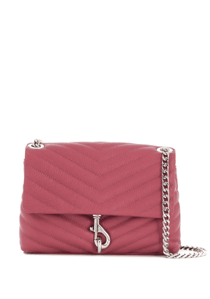 Rebecca Minkoff Edie quilted crossbody bag - PINK