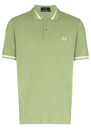 Fred Perry logo embroidered polo shirt - Green