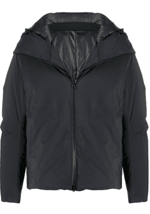 Attachment padded down jacket - Black
