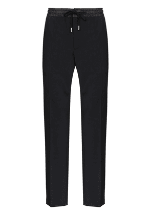 Dolce & Gabbana piped-trimmed track pants - Black