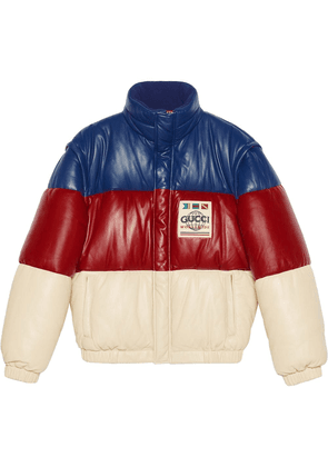 Gucci detachable sleeves padded jacket - Multicolour