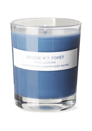 A.P.C. - + Jjjjound No 7 Forêt Scented Candle, 150g - Blue