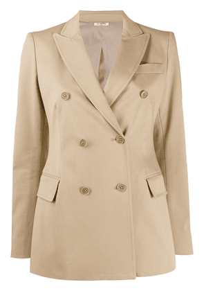 P.A.R.O.S.H. Cyber double breasted blazer - NEUTRALS