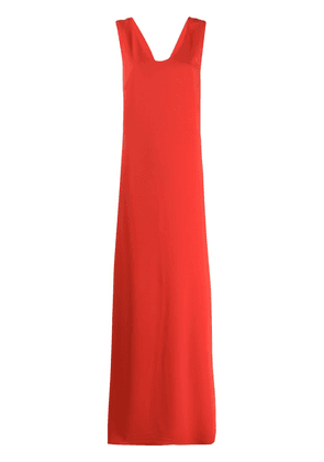 P.A.R.O.S.H. scoop neck shift dress - Red