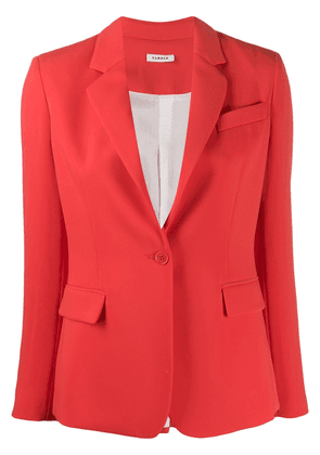 P.A.R.O.S.H. fitted blazer - Red
