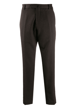 Dell'oglio tailored cropped trousers - Brown