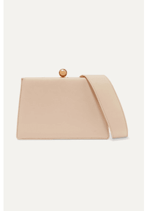 Ratio et Motus - Mini Twin Leather Shoulder Bag - Ecru