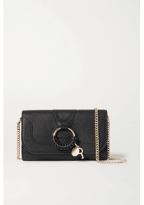 See By Chloé - Hana Textured-leather Shoulder Bag - Black