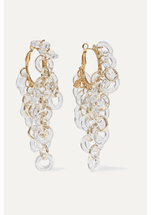 Rosantica - Sound Gold-tone And Resin Earrings - one size