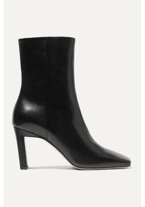 Wandler - Isa Leather Ankle Boots - Black