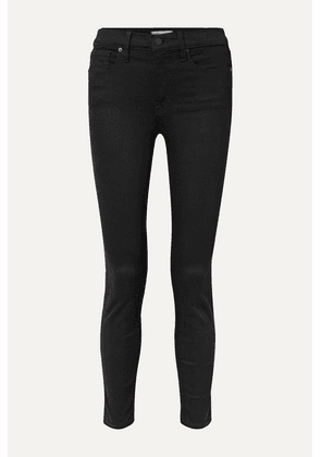 Madewell - Cropped High-rise Skinny Jeans - Black